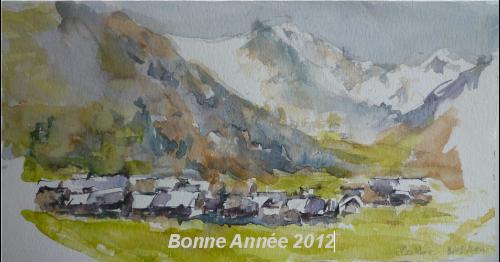 Ceillac, village des Hautes-Alpes
