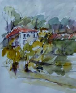 Réaumont, la maison aux glycines
