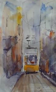 """Salon SADAG """"Le tram jaune'"""