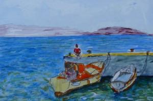 Armeni-le ponton et Gilbert Marie-Pierre