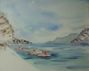 Ammoudi côté mer - Cathou