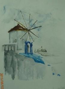 moulin d'Oia