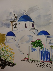 Korfos (Thirassia) - Gilbert