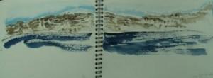 la caldera, Santorini
